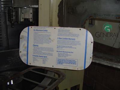 plexiglass machine guards